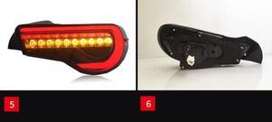 Image 3 - 자동차 범퍼 taillamp 86 for Toyota86 GT86 미등 후방 램프 2012 2013 2014 2015 2016 2017 2018 년 LED 브레이크 + 파크 + 신호등