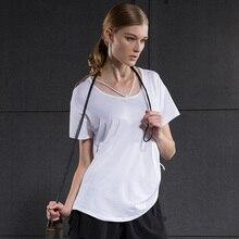 2017 New Demix Sports Blouses Women s Short Sleeved T shirt Female Summer Loose Gym Running