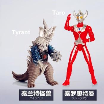 b1738b2e44d9 Ultramán Taro tirante rey Joe Antlar Gomora con módulo de sonido figuras de  acción PVC colección de muñecas modelo juguetes para niños regalos