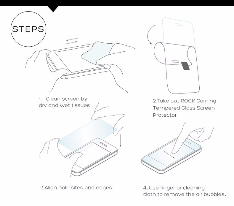 """Image 5 - Screen Protector Meizu M6T Glass 2.5D Tempered Glass sFor Meizu M6T Full Coverage Glass Meizu M6T M811Q Film 5.7"""" WolfRule-in Phone Screen Protectors from Cellphones & Telecommunications"""