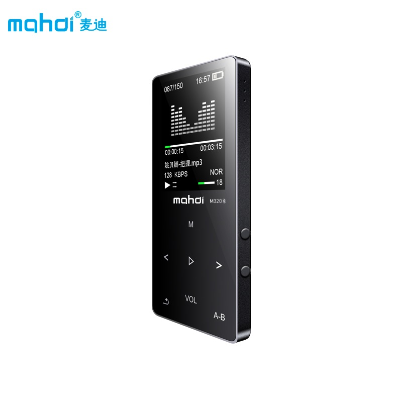 Mahdi MP4 <font><b>Player</b></font> Bluetooth Kapazitive Touch Eingebauter Lautsprecher <font><b>MP</b></font> <font><b>4</b></font> <font><b>Player</b></font> 1,8