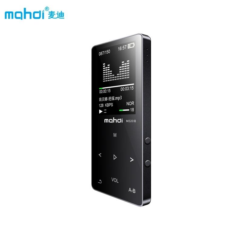 Mahdi Reproductores MP4 táctil capacitiva Bluetooth altavoz incorporado MP 4 1.8