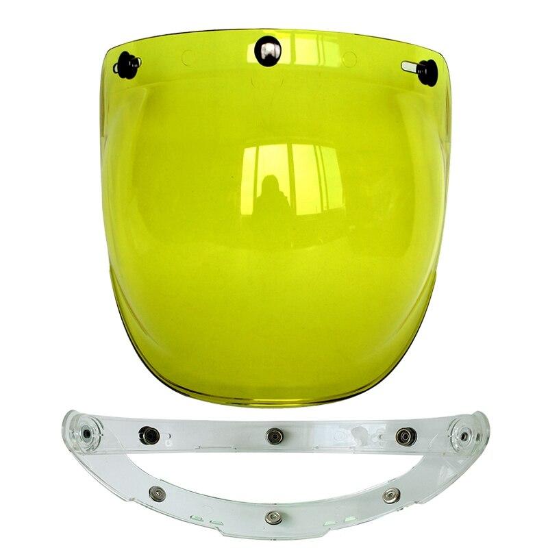 (1pc & 5colors) 100% Originele Motorhelm Vizier Shield Retro Hallar - Motoraccessoires en onderdelen - Foto 4