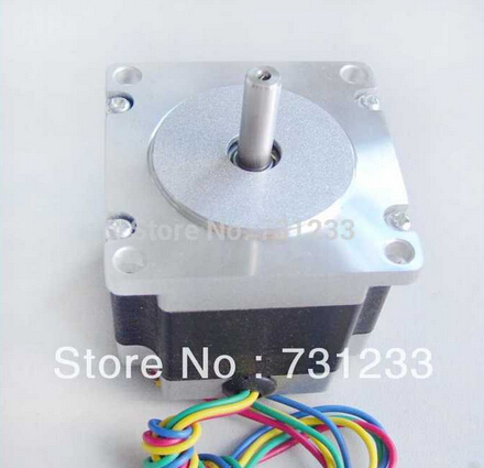 1pcs/lot CNC NEMA 23 Stepper Motor 76 oz-in Body Length 41mm CE Rohs CNC Kit Motor dual shaft nema 17 stepper motor 52n cm 72 oz in body length 48mm ce rohs cnc 3d printer motor