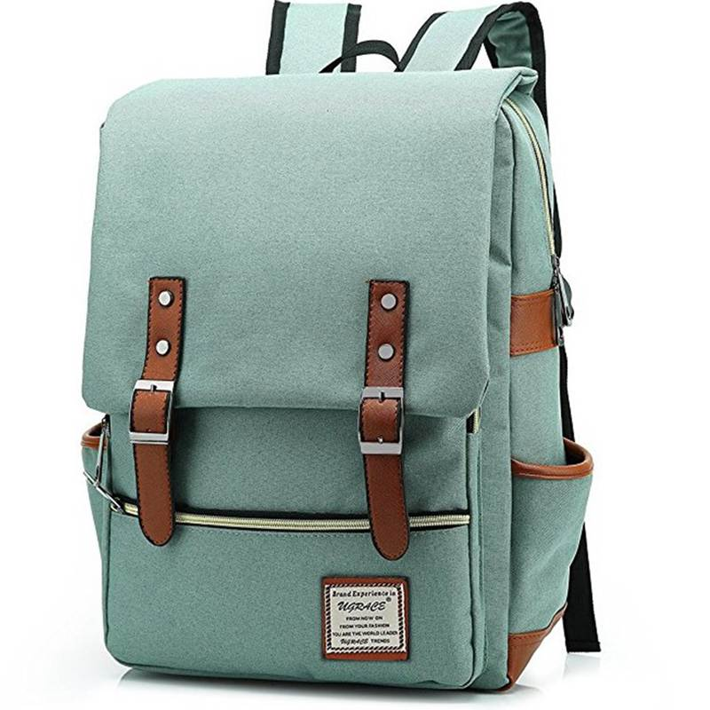 Fashion Vintage Men Women Backpacks School Canvas Bags Retro Oxford Large Capacity Laptop Backpack For Teenagers Girls
