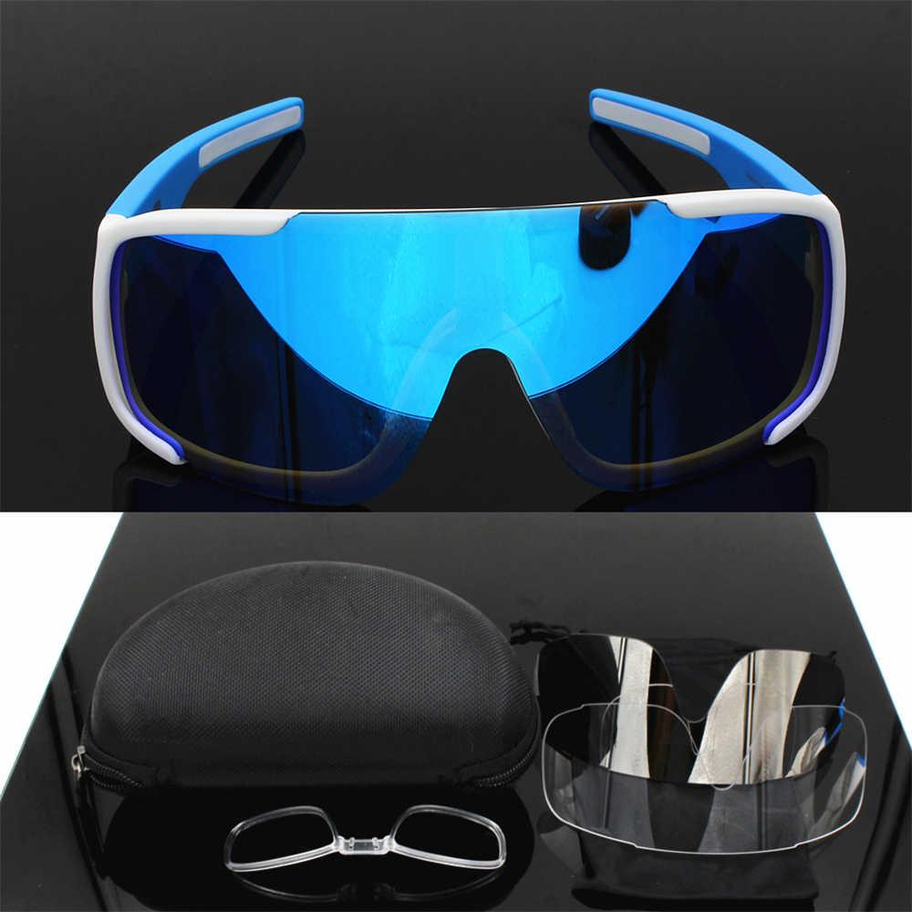 d310085a17 Brand aspire 3 Lens Airsoftsports Cycling Sunglasses Men women Sport Mtb  Mountain Bike Glasses fishing Eyewear