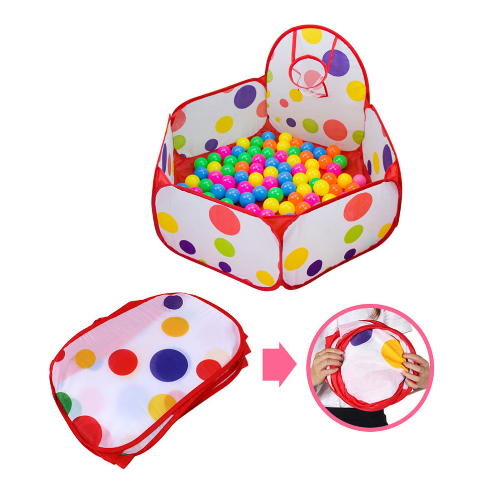 Garden Inflatable Sofa 100cm Foldable Baby Ocean Ball Pool For Kids Eco-Friendly Game Play House Pool Colorful Safety Tents Toys