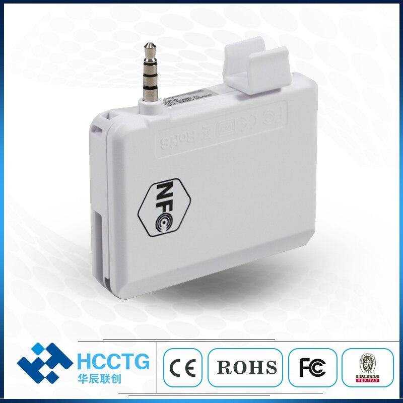 NFC de Jack de Audio de lector de tarjeta Magnética/teléfono móvil lector de tarjeta de crédito con SDK libre - 5