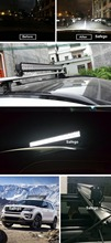 Safego 12inch 72W LED Light Bar Combo Beam car truck led Offroad Light 12V 24V LED Work Light ATV SUV 4WD 4X4 Boating Hunting