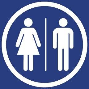 toiletwcbathroomlavatory signsymbolmark5x5 inchself adhesive label stickerproduct code pl03b free shipping - Bathroom Symbol