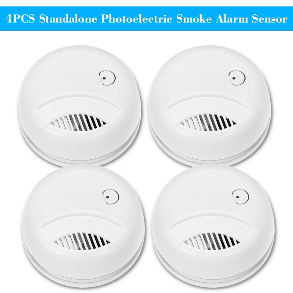 Standalone Smoke Alarm Smoke Detector Fire Sensor safe Home For Hotel factory KF