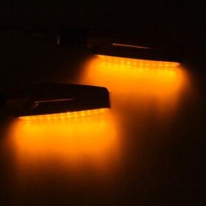Image 2 - Luce di Segnale di girata Flessibile Moto HA CONDOTTO le luci Universale lampeggiatori motocross per yamaha YZF R1 R6 R125 PER Honda GROM MSX125
