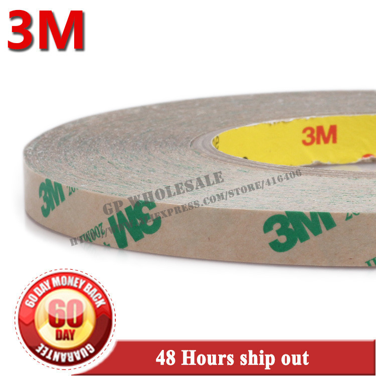 купить 75mm width, 55 Meters 3M 468MP 200MP Adhesive Laptop Phone NampePlate Switch Glue High Temperature Resistant Double Sided Tape