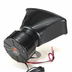 Image 5 - Dragonpad 100W 7 ses araba elektronik uyarı Siren motosiklet alarmı İtfaiyeciler ambulans hoparlör MIC ile hava Loud araba kornası