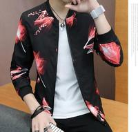 Male Trend Slim Handsome Summer Sun Clothes Spring And Autumn New Casual Jacket 9989