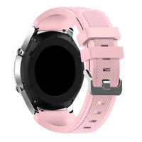 PUCAT AOOW Generic Watchband Silicone Rubber Watch Strap Bands Waterproof 20mm 22mm 24mm 26mm Watches Belt