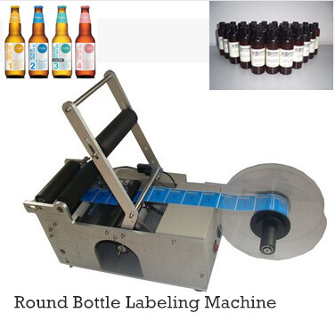 Wholesale Semi-automatic Round Bottle Labeling Machine Labeler Sticky label machine MT-50 eco mt 50 semi automatic round bottle labeler labeling machine 120w 20 40pcs min