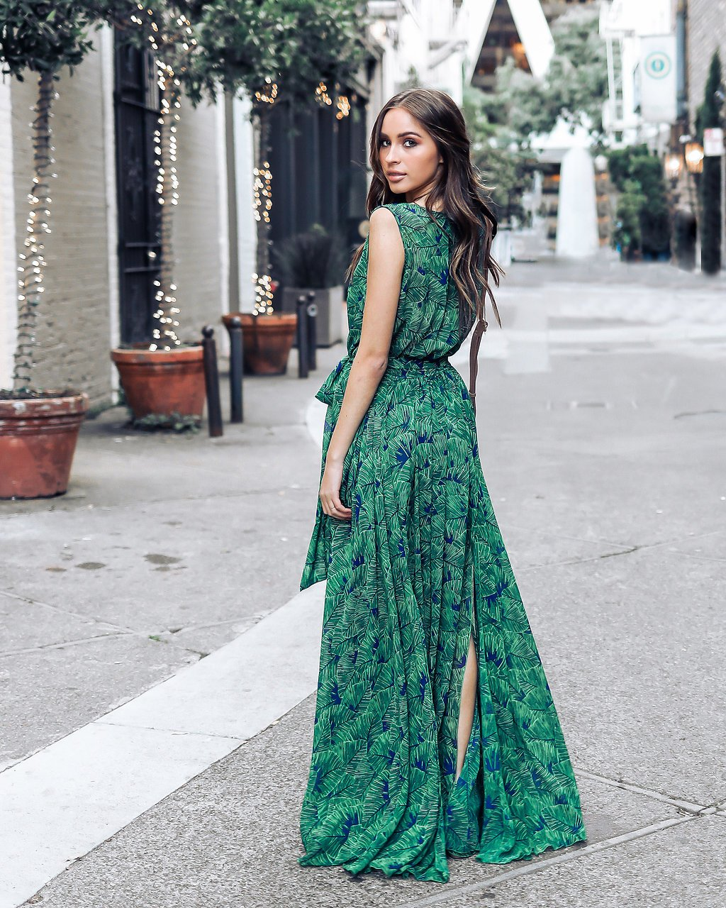 e9c376d999234 Bohemian Floral Maxi Dress Summer Green Retro Vintage V Neck Sexy ...