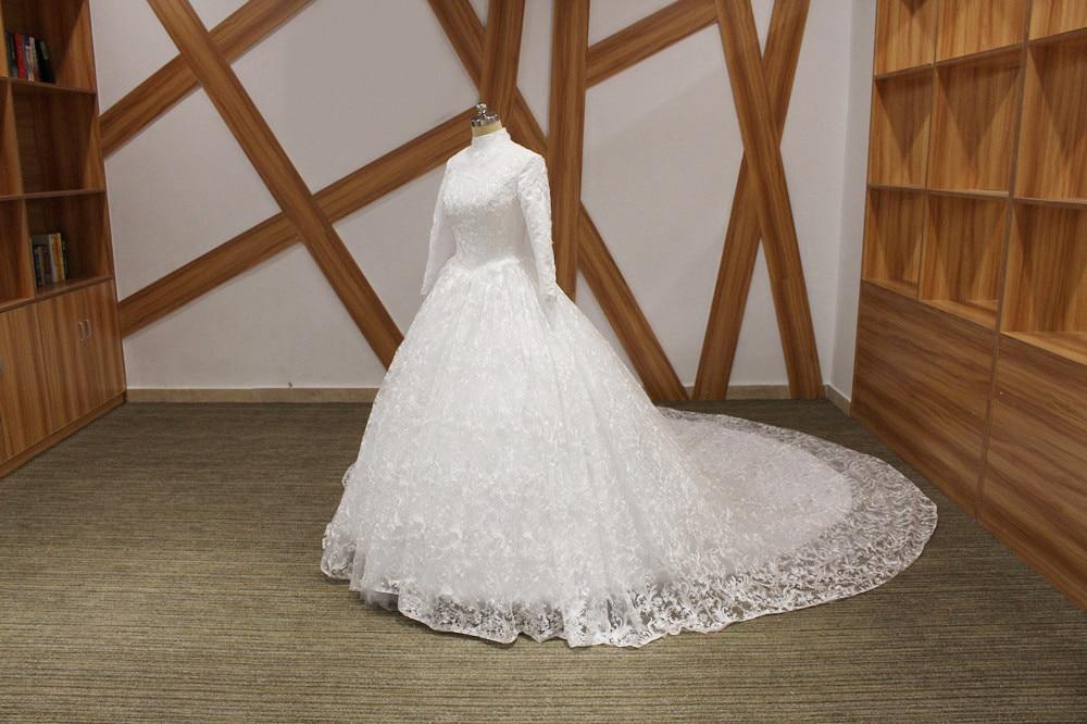 Aliexpress.com : Buy Muslim Wedding Dress With Long Sleeve