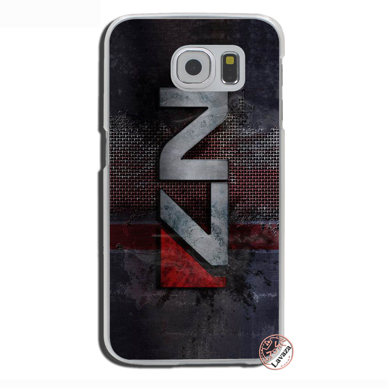US $1 99 22% OFF|Lavaza N7 Mass Effect Hard Phone Cover Case for Samsung  Galaxy S10 E S10E S8 S9 Plus S6 S7 Edge Cases-in Half-wrapped Case from