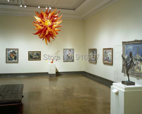 Бесплатная доставка воздуха западный стиль Современный домашний декор выставка морская люстра освещение