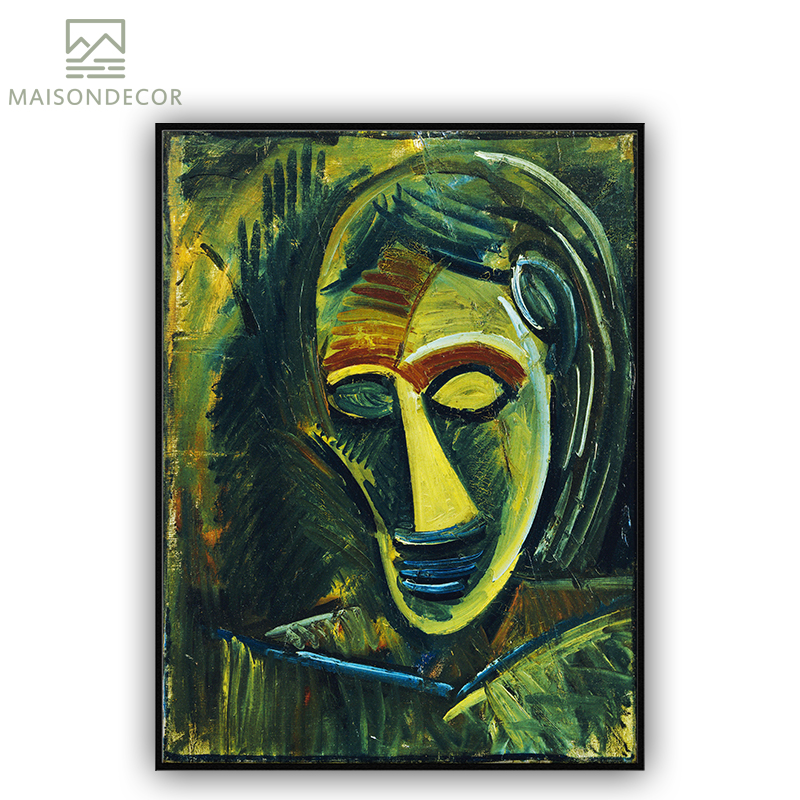 Diy Frame Famous Painter Abstract Artist Figure Oil Painting