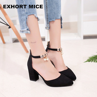 2017 Summer Women Shoes Pointed Toe Pumps Dress Shoes High Heels Boat Shoes Wedding Shoes Tenis