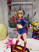 "DC Comics Bishoujo Universe Supergirl Returns PVC Complete Figure Justice League Super Girl Toys 8"" 21cm(China)"