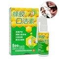 Própolis de abelha boca limpa spray Oral tratamento de úlcera oral faringite tratamento da halitose mau hálito refrescante do hálito A2