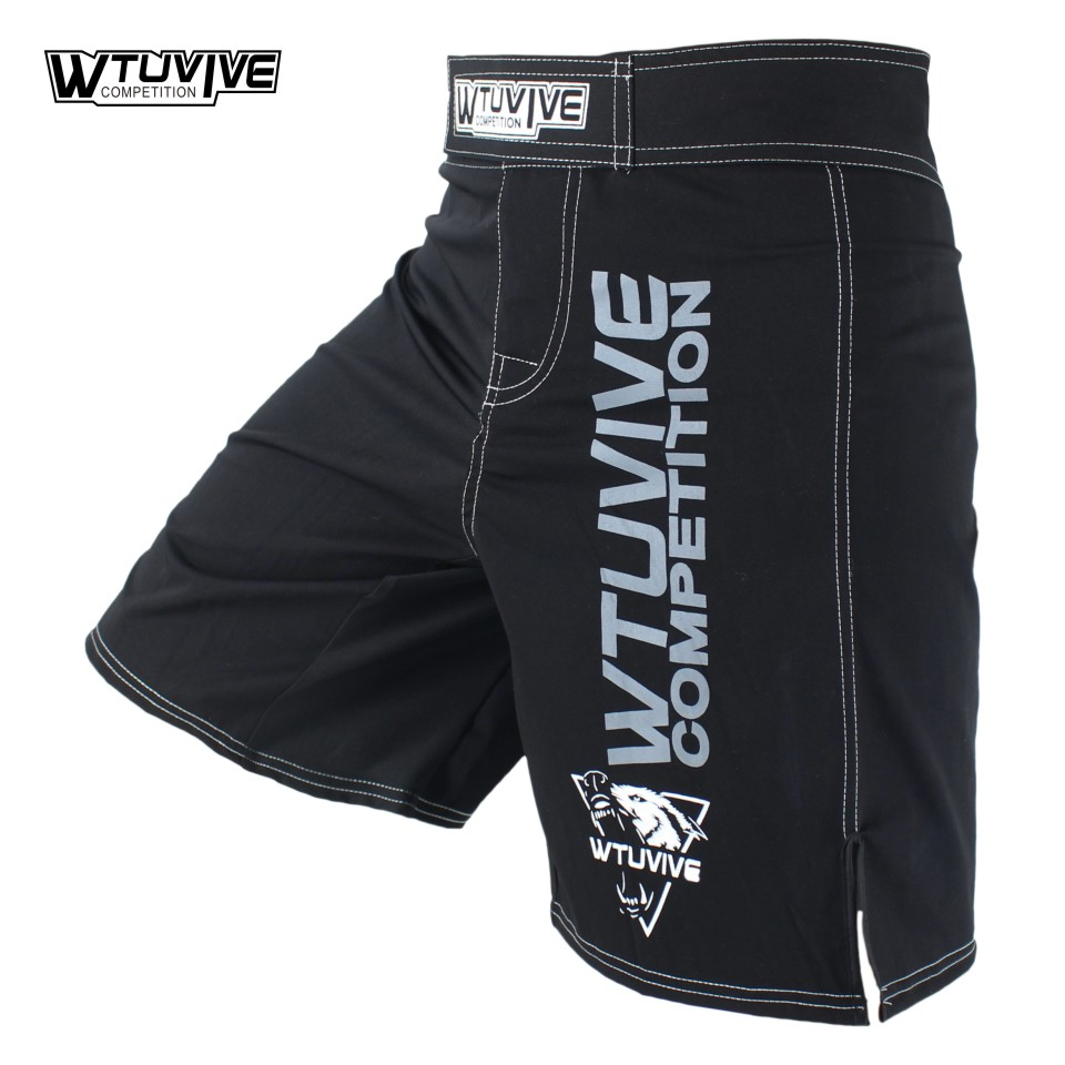 SUOTF MMA new men's sports breathable fitness boxing shorts tiger Thai boxing clothing mma shorts shorts muay thai clothing mma