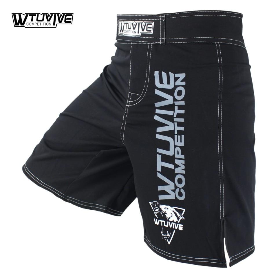 SUOTF MMA new men s sports breathable font b fitness b font boxing shorts tiger Thai