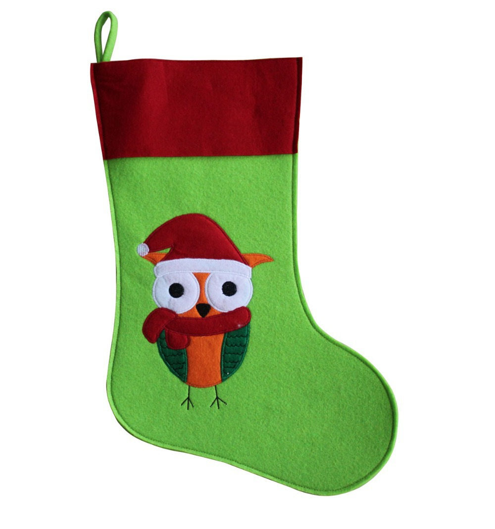 applique xmas stockings
