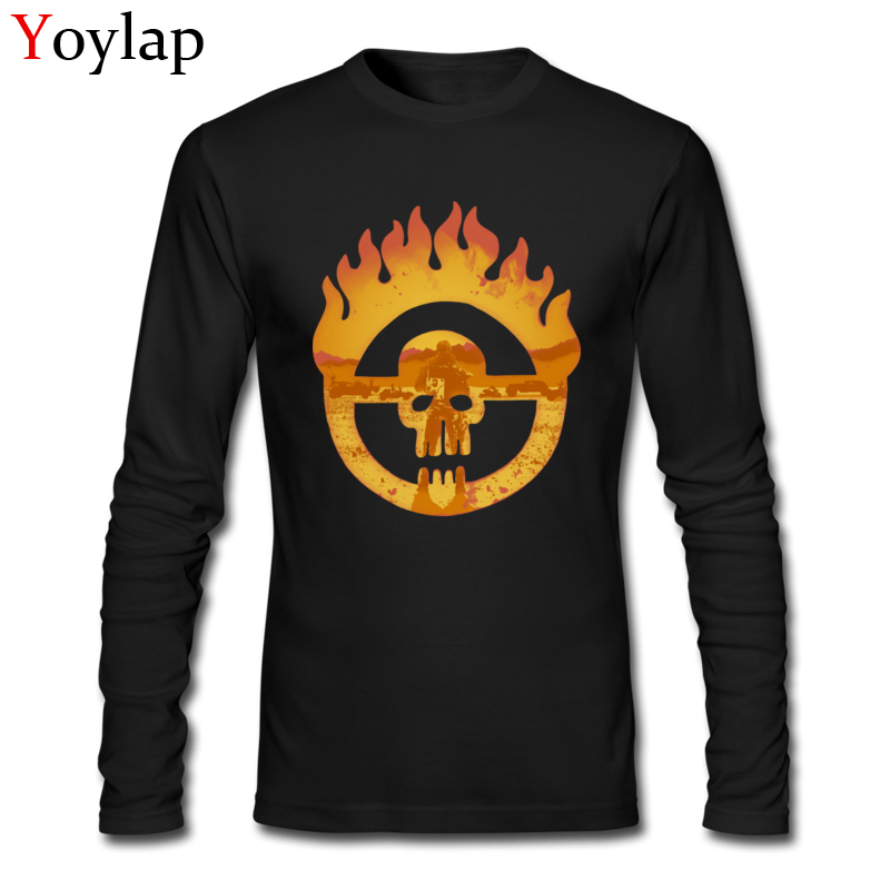 US $16 8 40% OFF|Cool Skull My Name Is Max 2017 New Men's Long Sleeve T  shirts Stylish Design Hip hop Tops & Tees Natural Pure Cotton-in T-Shirts  from