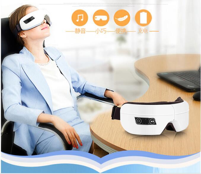 Top grade Wireless eye massager prevent eye myopia charge Foldable eye massager top grade mills