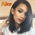 2016 Straight Human Hair Bob Wigs U Part Wigs Virgin Hair Lace Front Human Hair Wigs Full Lace Human Hair Wigs For Black Women