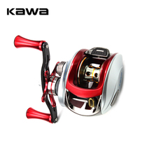 Kawa Bait Casting Fishing Reel 7.1:1 Baitcasting Reel Centrifugal Brake Carbon Handle Alluminum Alloy Knob Max Drag 6KG