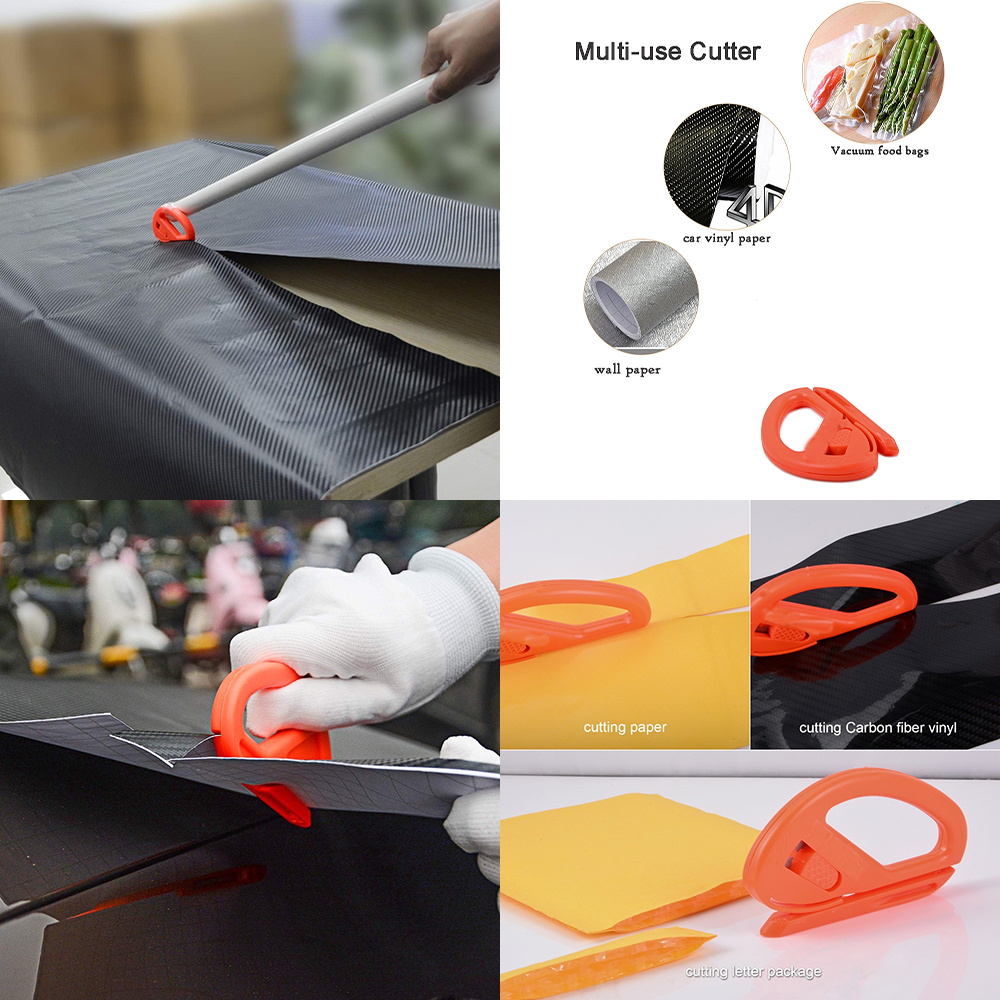 Image 3 - EHDIS Vinyl Wrap Carbon Fiber Film Squeegee Scraper Kit Magnetic Magnet Holder Car Styling Sticker Accessories Cutter Knife Tool-in Scraper from Automobiles & Motorcycles
