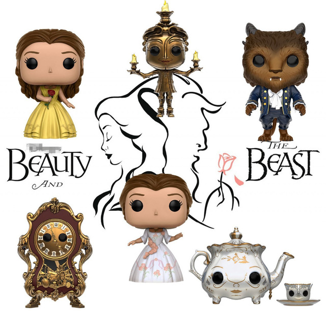 Official Funko Pop Beauty And The Beast Mrs Potts Chip Belle