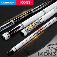 2019 China NEW PREOAIDR IKON3 1/2 Pool Cue Stick 13mm 11.5mm 10mm Tip with Billiard Pool Cue Case 5 Colors