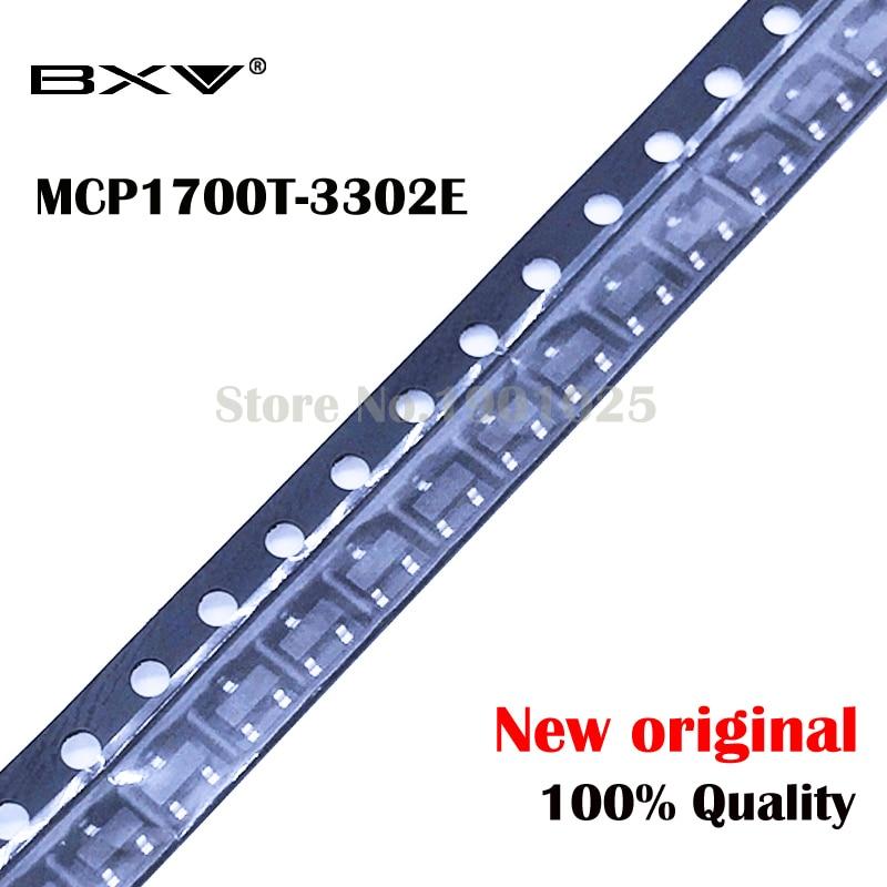 20pcs MCP1700T-3302E MCP1700T MCP1700 SOT-23 New Original