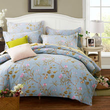 New 100 Cotton High Quality Bedding Set Home Textiles Soft Duvet Cover Bed Sheet Fitted Pillowcases