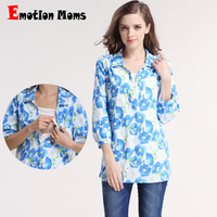 Emotion Moms Spring Maternity clothes Long sleeve Breastfeeding Tops for Pregnant Women maternity T-shirt nursing Tank Tops