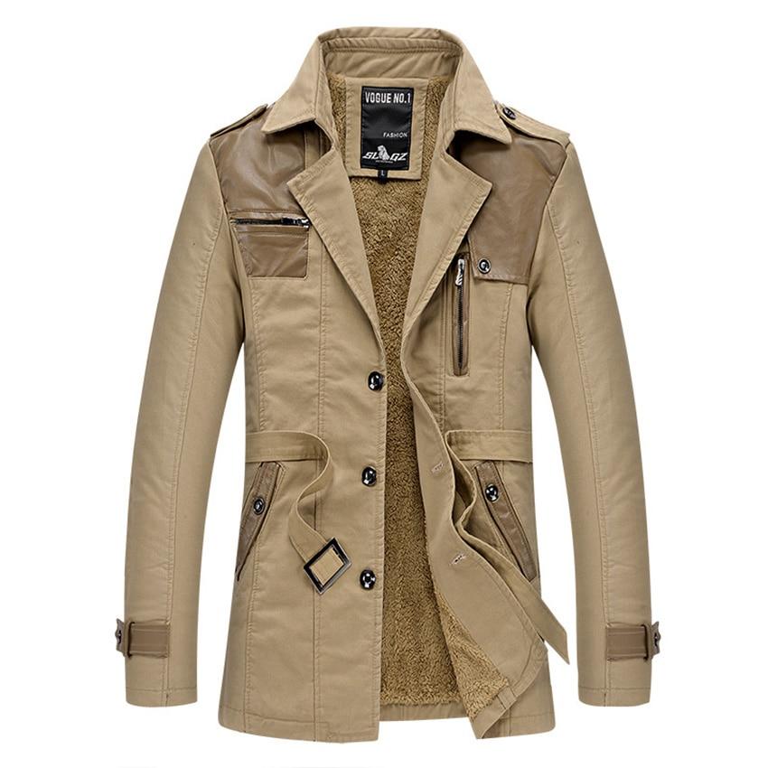 men jacket coat long section fashion trench coat masculina. Black Bedroom Furniture Sets. Home Design Ideas