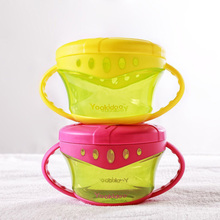 12M+ Baby Kids Safe Non-Spill Snack Cup tableware Baby Feeding Bowl