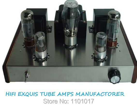 JBH EL34 Tube Amp HIFI EXQUIS single-ended DIY Set or Finished Lamp Amplifier JBHEL342L
