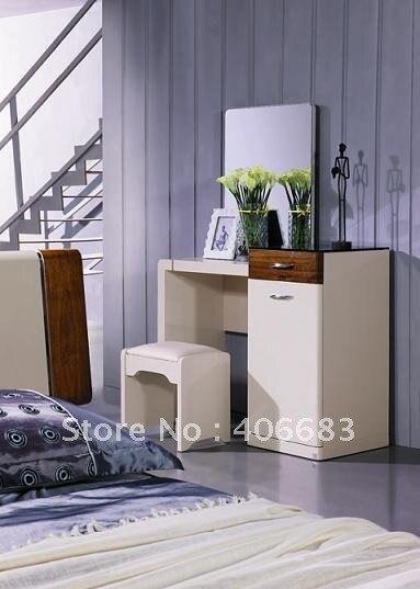 Modern home furniture bedroom set high gloss,mdf melamine dressing ...