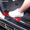 Автомобильный Стайлинг  углеродное волокно  резиновый порог 5D  автомобильные наклейки  защитные товары для Honda Civic 2017 2018  2019  2020  аксессуары
