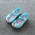 Sandalias de las muchachas 2017 Nuevos Mini sed Niños Sandalias Dulces Niños Playa Sandalia Linda Hebilla Correa de Cuero Suave Zapatos de Las Muchachas
