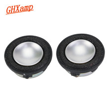 Ghxamp 1 Inci 4Ohm Mini 3 W Speaker 28 Mm Berbagai Suara Midrange Bass Busa Sisi MP3 Speaker Bulat 1 Pasang(China)
