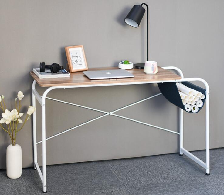 Modern Simple Laptop Desk Home Computer Desk Economical Working Table For Living Room Bedroom 50x80cm 50x100cm